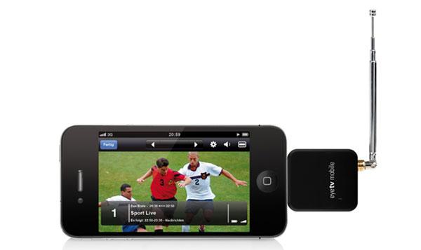 EyeTV Mobile di Elgato per iPhone