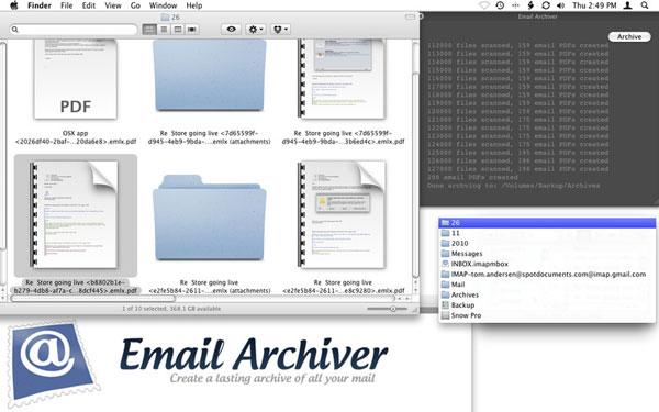 Email Archiver per Mac