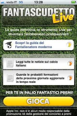 Fantascudetto Live 2011/2012