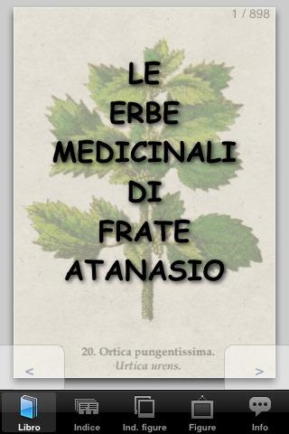 Le erbe medicinali di frate Atanasio