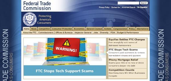 Sito FTC USA