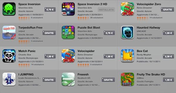 iCade games