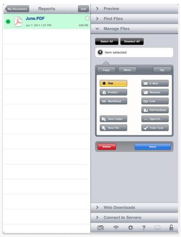 GoodReader per iPad