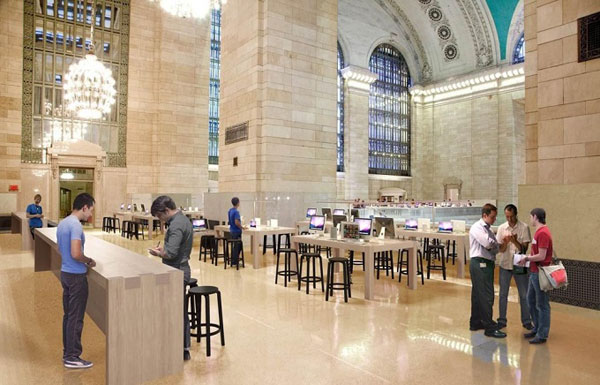 Apple Store Grand Central Terminal di New York