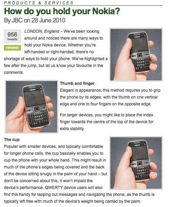 nokia contro iphone 4