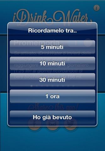 iDrinkWater per iPhone