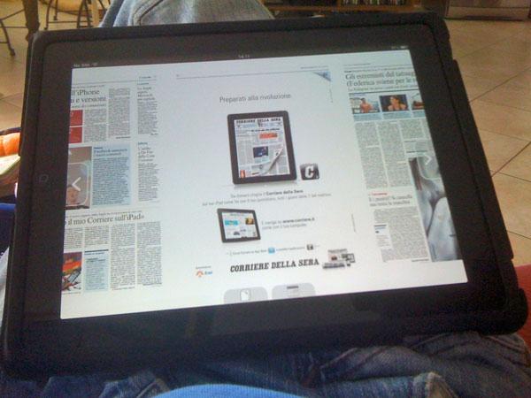 iPad consegnato