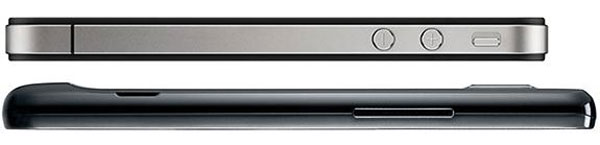 iPhone 4 contro Samsung Galaxy S2