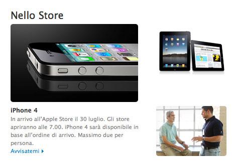 iPhone 4 Apple store 7.00am