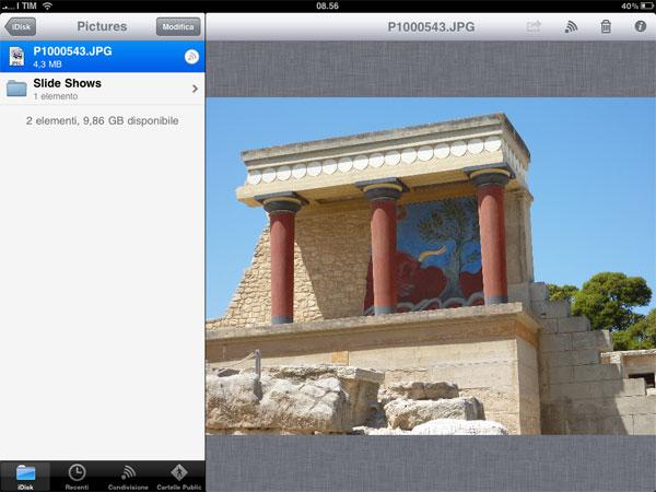 iDisk iPad