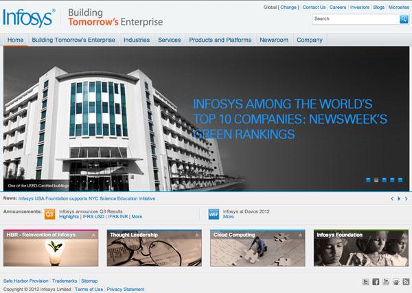 infosys sito web