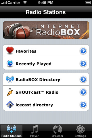 internet radio box