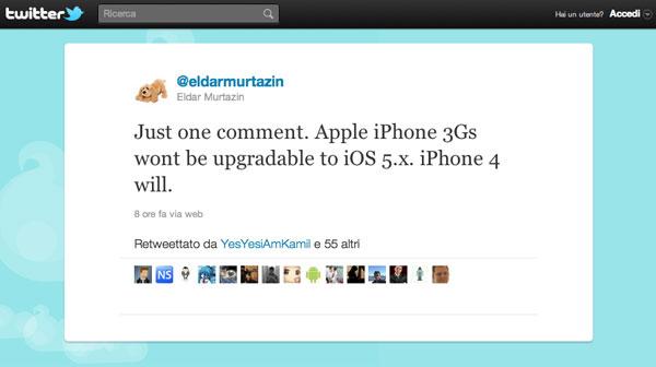 Murtazin iOS 5 iPhone 3GS