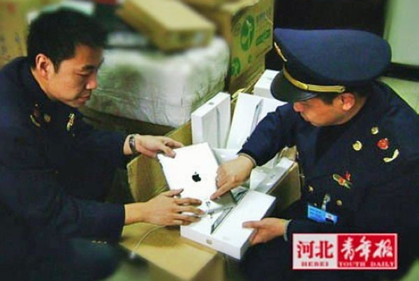 iPad 2 sequestrati in Cina