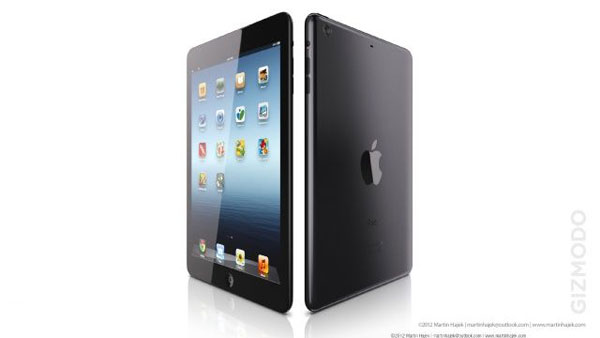 ipad mini nero rendering
