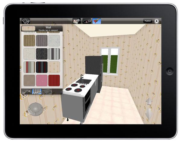 Ridisegna gli interni di casa su ipad e iphone con home for Architecture 3d ipad