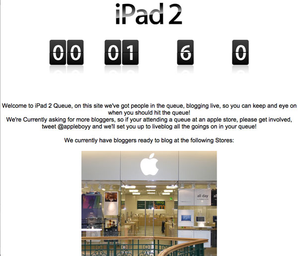 iPad2queue