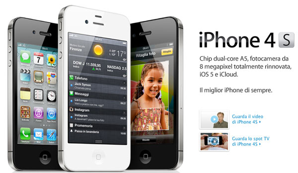 iPhone 4s home