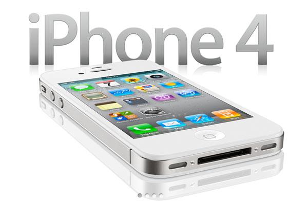 iPhone 4 bianco Apple