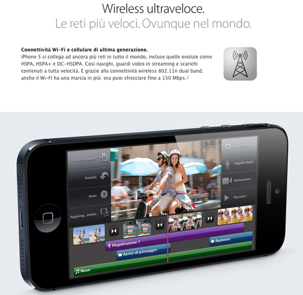 iphone 5 wirless LTE