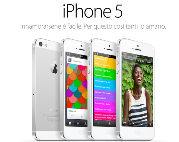 iphone 5 apple sito