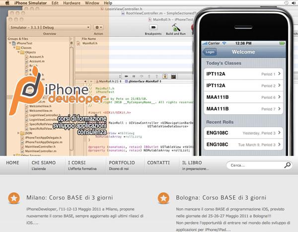 corsi iPhoneDeveloper