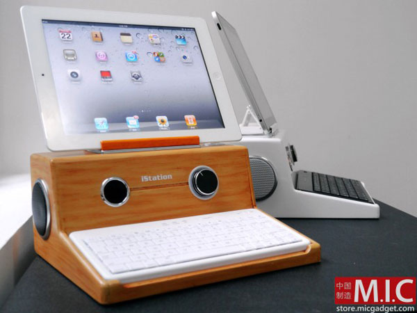 Mic Gadget iStation per iPad iPad 2 e iPhone