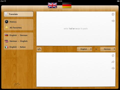 itranslate iPad