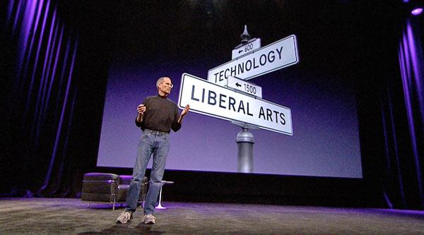 Steve Jobs crossroads tech arts