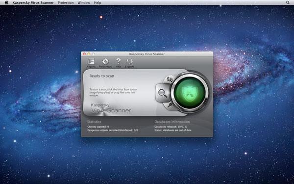 kaspersky virus scanner
