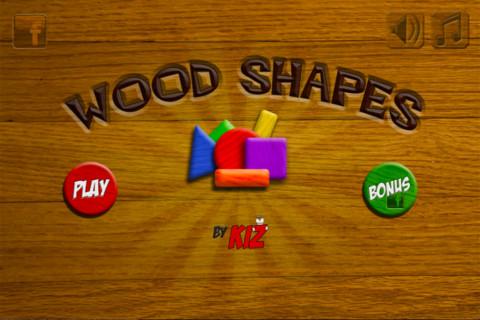 kiz wood shapes