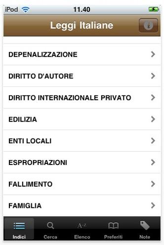 leggi italiane mariotti