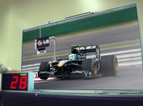 LG prototipo TV basso consumo LED
