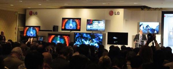 LG CES 2012