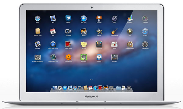 OS X Lion multi-touch gesture