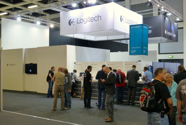 Logitech stand IFA 2012