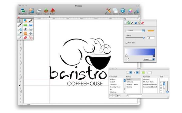 Logo design studio lite crea logo e marchi su mac a 1 59 for Programmi per designer