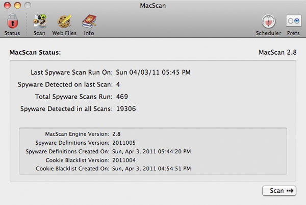 SecureMac MacScan