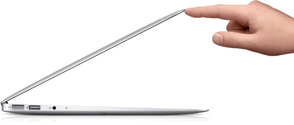MacBook Air profilo