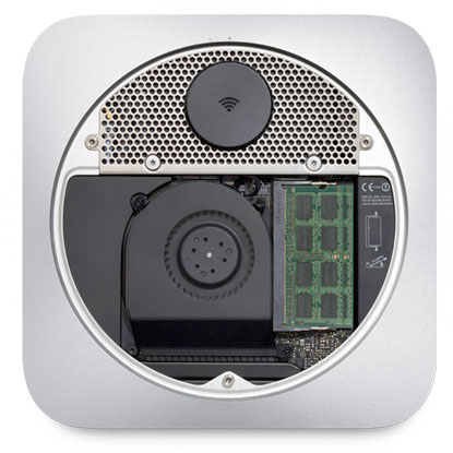 mac mini interno