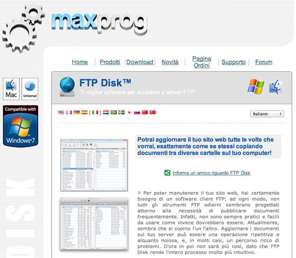 FTP Disk versione 1.1 icon