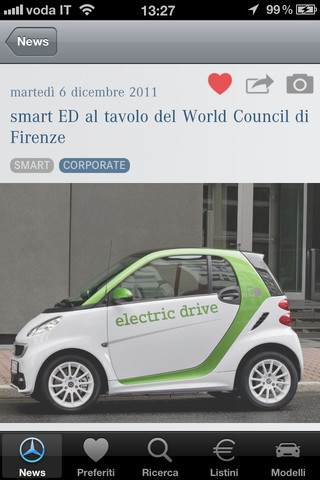 MercedesNews app per iPhone e iPad
