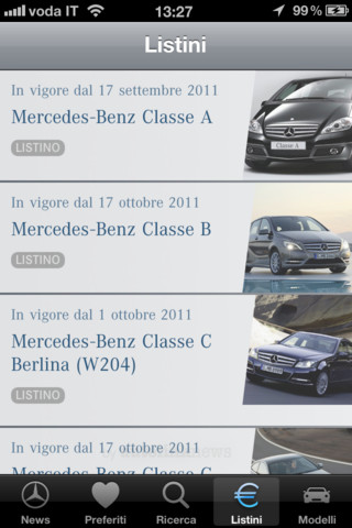 MercedesNews app per iPhone e iPad
