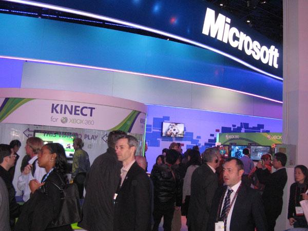 CES 2011 Microsoft