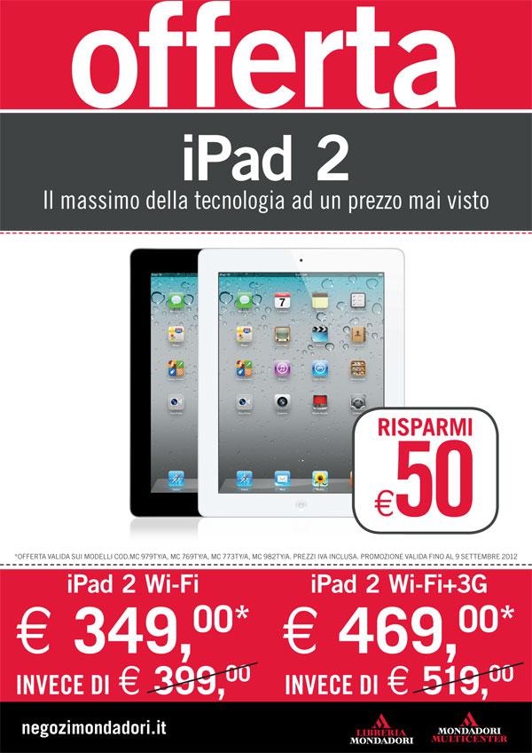 Offerta Mondadori iPad 2