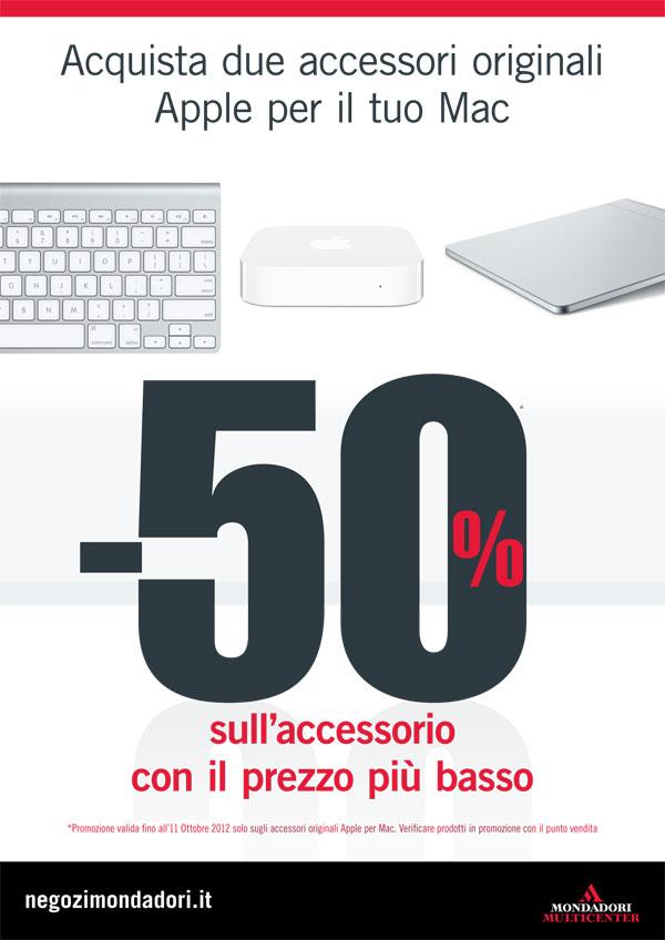 Offerta mondadori 21 settembre accessori sconto 50%