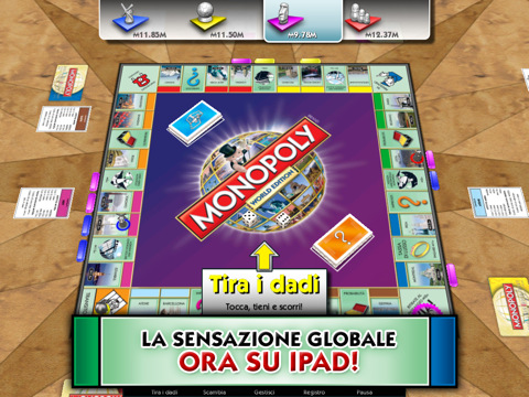 Monopoly here and now: The World Edition for iPad