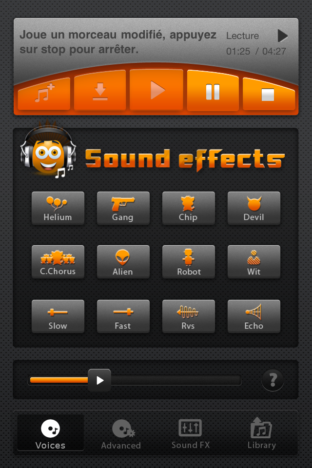 Voice e Music Morphing