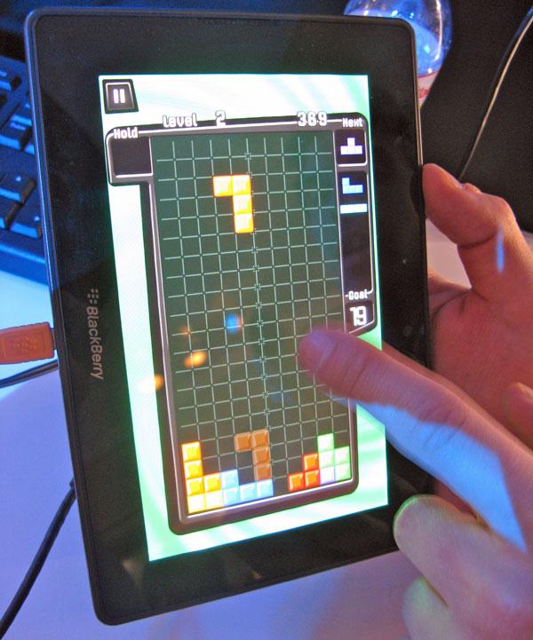 Mobile World Congress RIM BlackBerry PlayBook