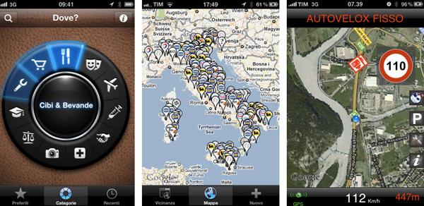 navigazione apps